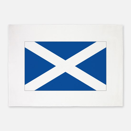 Scotland Flag 5'x7'Area Rug