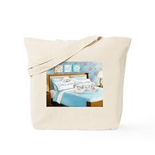 Sleeps with Maltese ByCatiaCho Tote Bag