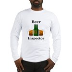 Beer Inspector Long Sleeve T-Shirt