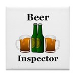 Beer Inspector Tile Coaster