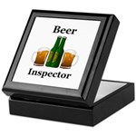 Beer Inspector Keepsake Box