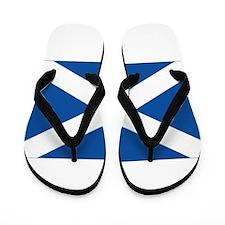Scotland Flag Flip Flops