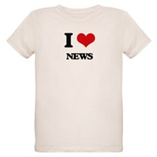 I Love News T-Shirt