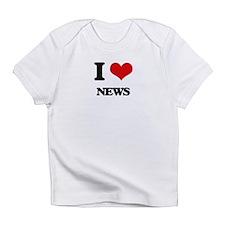 I Love News Infant T-Shirt