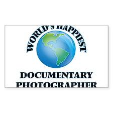 World's Happiest Documentary Photographer Decal