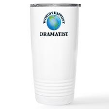 World's Happiest Dramat Travel Mug