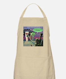 Spaced-Out Vegan Apron