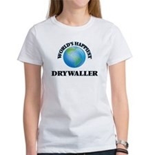 World's Happiest Drywaller T-Shirt