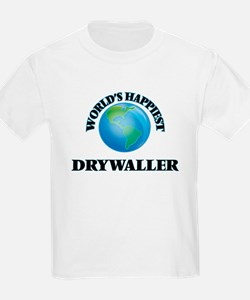 World's Happiest Drywaller T-Shirt