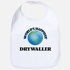 World's Happiest Drywaller Bib