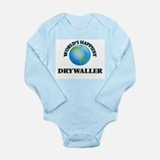 World's Happiest Drywaller Body Suit