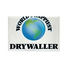 World's Happiest Drywaller Magnets