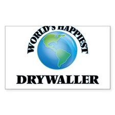 World's Happiest Drywaller Decal