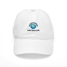 World's Happiest Drywaller Baseball Cap