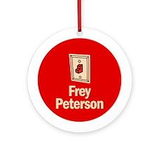 Ornament (Round). Frey Peterson.