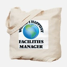 World's Happiest Facilities Manager Tote Bag
