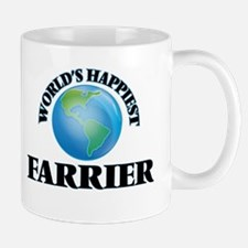 World's Happiest Farrier Mugs