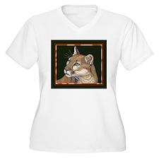 Mountain Lion Plus Size T-Shirt