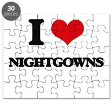 I Love Nightgowns Puzzle