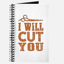 I Will Cut You Journal