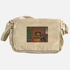 Santa Watch Messenger Bag