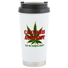 Unique Cannabis Travel Mug