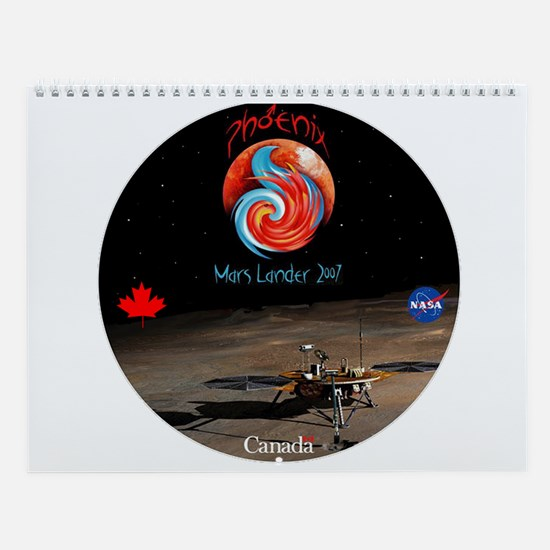 Celebrate Mars! Wall Calendar