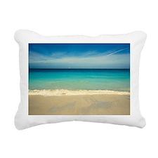 50 shades of blue Rectangular Canvas Pillow