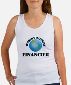 World's Happiest Financier Tank Top