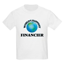 World's Happiest Financier T-Shirt
