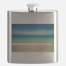 50 Shades of Blue Flask