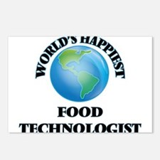 World's Happiest Food Tec Postcards (Package of 8)