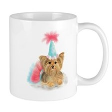 Birthday Yorkie Mugs