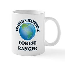 World's Happiest Forest Ranger Mugs