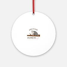 Awesome Possum Ornament (Round)