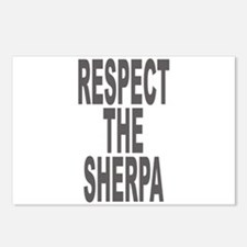Respect The Sherpa Large Postcards (Package of 8)