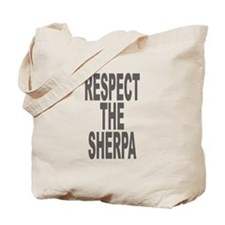 Respect The Sherpa Large Tote Bag