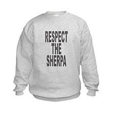 Respect The Sherpa Large Sweatshirt