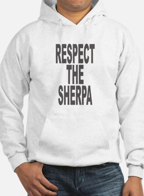 Respect The Sherpa Large Hoodie