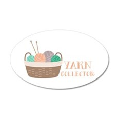 Yarn Collector Wall Decal