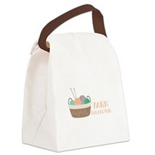 Yarn Collector Canvas Lunch Bag