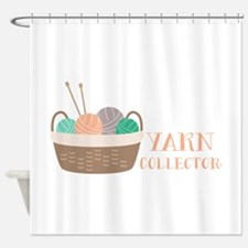 Yarn Collector Shower Curtain