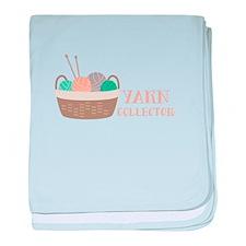 Yarn Collector baby blanket