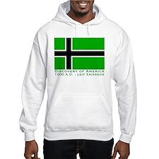 Leif Eriksson Flag Hoodie