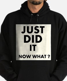Just DID it, Now What? Hoodie
