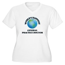 World's Happiest General Practic Plus Size T-Shirt