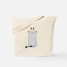 Giraffe dressed up as Ghost Tote Bag