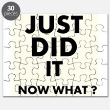 Just DID it, Now What? Puzzle