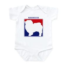 Pro Keeshound Infant Bodysuit