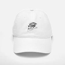 Bluegill Fish on black Baseball Baseball Cap